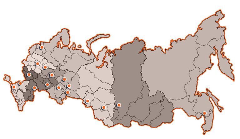 Региональная сеть оценщиков