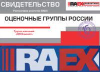 17 место в рэнкинге оценочных групп «РАЭКС Аналитика» (2018 год)
